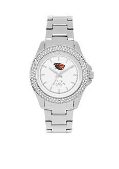 Jack Mason Women's Oregon State Glitz Sport Bracelet Watch