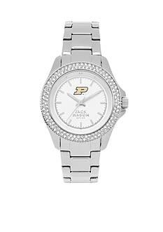 Jack Mason Women's Purdue Glitz Sport Bracelet Watch