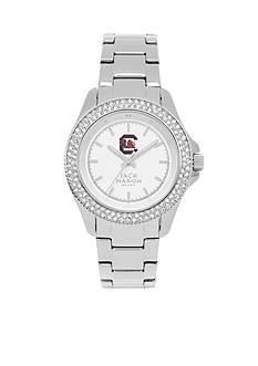 Jack Mason Women's South Carolina Glitz Sport Bracelet Watch