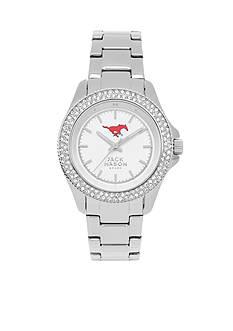 Jack Mason Women's SMU Glitz Sport Bracelet Watch