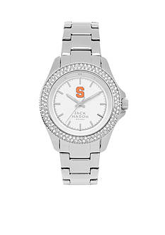 Jack Mason Women's Syracuse Glitz Sport Bracelet Watch
