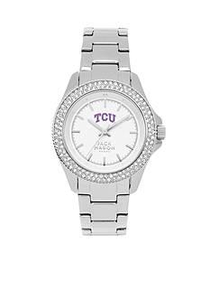 Jack Mason Women's TCU Glitz Sport Bracelet Watch