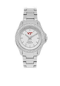 Jack Mason Women's Virginia Tech Glitz Sport Bracelet Watch