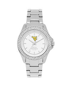 Jack Mason Women's West Virginia Glitz Sport Bracelet Watch