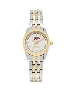 Jack Mason Women's Arkansas Two Tone Dress Bracelet Watch