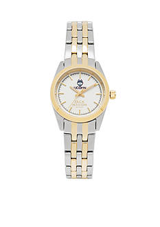 Jack Mason Women's Connecticut Two Tone Dress Bracelet Watch