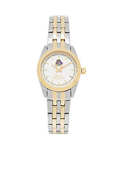 Jack Mason Women's East Carolina Two Tone Dress Bracelet Watch