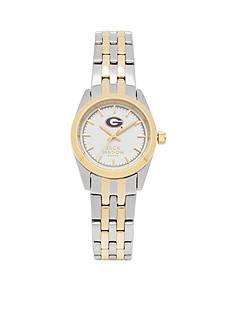 Jack Mason Women's Georgia Two Tone Dress Bracelet Watch