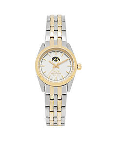 Jack Mason Women's Iowa Two Tone Dress Bracelet Watch
