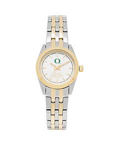 Jack Mason Women's Oregon Two Tone Dress Bracelet Watch