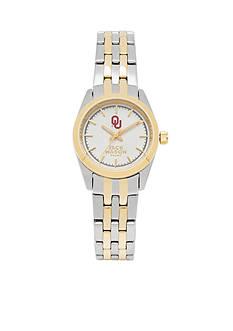 Jack Mason Women's Oklahoma Two Tone Dress Bracelet Watch
