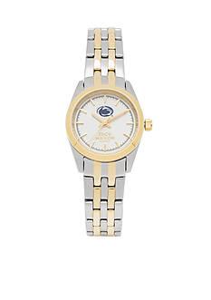 Jack Mason Women's Penn State Two Tone Dress Bracelet Watch