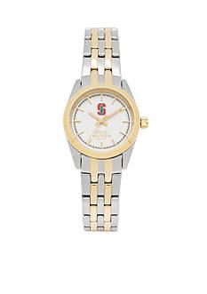 Jack Mason Women's Stanford Two Tone Dress Bracelet Watch