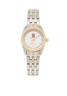 Jack Mason Women's Syracuse Two Tone Dress Bracelet Watch