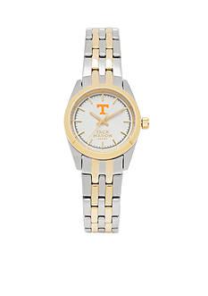 Jack Mason Women's Tennessee Two Tone Dress Bracelet Watch