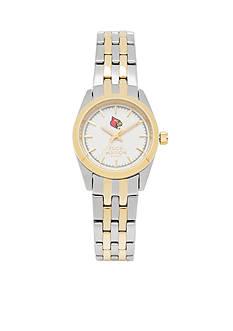 Jack Mason Women's Louisville Two Tone Dress Bracelet Watch