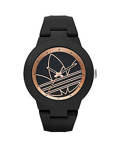 adidas Original Aberdeen with Black and Rose Gold Dial Three Hand Watch