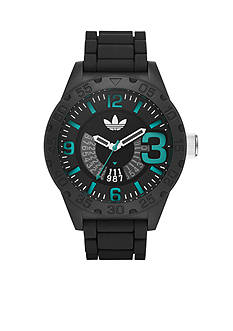 Men's adidas Originals Newburgh Black Three Hand Watch