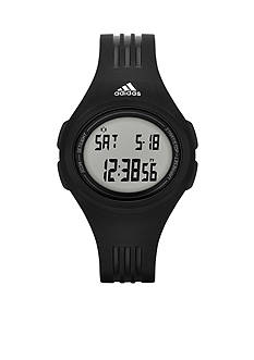 adidas Performance Black Silicone Uraha Digital Watch