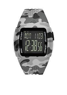 adidas Men's Performance Duramo Gray Camo Sport Watch