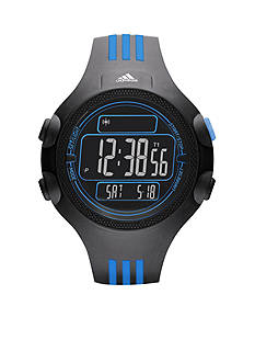 adidas Performance Black Silicone Questra Digital Watch