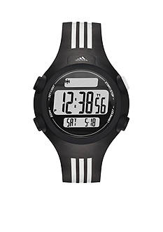 adidas Black and White Questra Mid Digital Watch