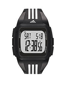 adidas Black and White Duramo Digital Watch