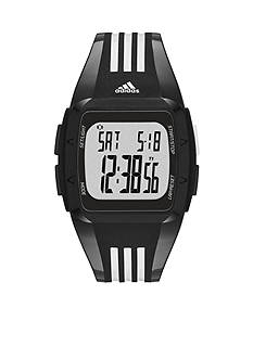 adidas Black and White Polyurethane Duramo Digital Watch