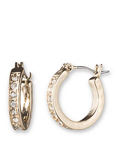 Lonna & Lilly Crystal Gold-Tone Hoop Earrings
