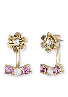 Lonna & Lilly Gold-Tone Flower Floater Earrings