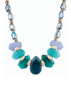 Lonna & Lilly Gold-Tone Stone Collar Necklace