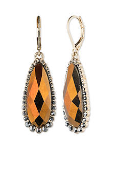 Lonna & Lilly Gold Tone Stone Drop Earring
