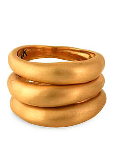 Karen Kane New Moon Stack Rings