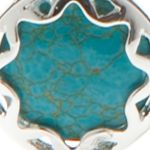 Fashion Collar Necklace: Blue Chaps Sultan Gardens Collar Necklace