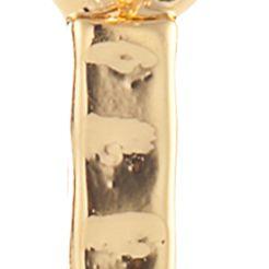 Dangle Earrings: Gold Chaps Grace Bay Linear Earrings