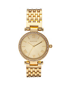 Rampage Women's Classic Gold-Tone Watch