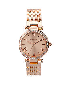 Rampage Women's Classic Rose Gold-Tone Watch