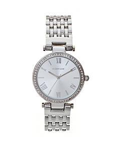 Rampage Women's Classic Silver-Tone Watch