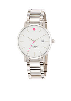 kate spade new york Stainless Steel Gramercy Grand Watch