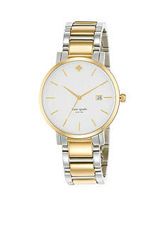 kate spade new york Large Two-Tone Gramercy Watch