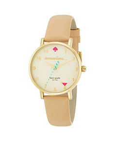 kate spade new york 5 O'Clock Metro Watch