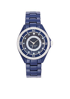 kate spade new york Pave Enamel Seaport Grand Watch