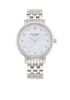 kate spade new york Women's Stainless Steel Monterey Three-Hand Glitz Watch