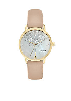kate spade new york Metro Vachetta Three-hand Watch
