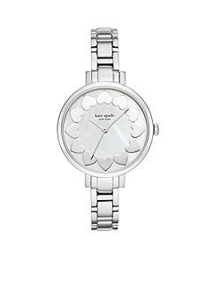 kate spade new york Women's Gramercy Stainless Steel Three-Hand Watch