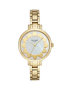 kate spade new york Women's Gramercy Gold-Tone Three-Hand Watch