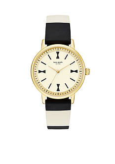 kate spade new york Women's Crosby Three-Hand Watch