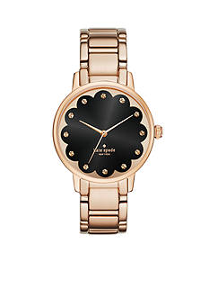 Kate Spade Women's Gramercy Rose-Gold Tone Three Hand Watch
