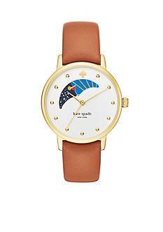 kate spade new york Gramercy Moon Phase Three-Hand Watch