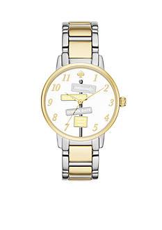 Kate Spade Women's Gramercy Novelty Two-Tone Watch